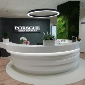 Fit-out Porsche ČR